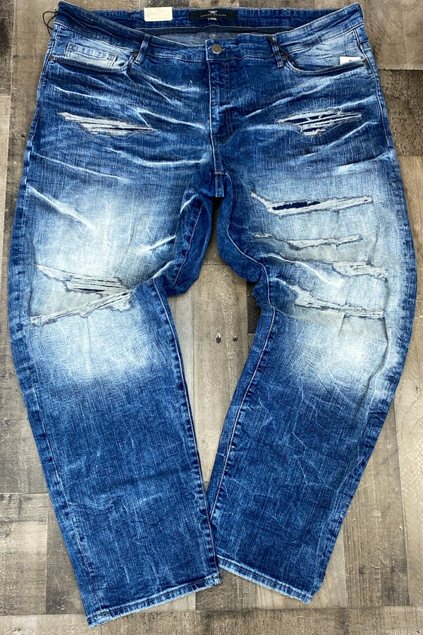 Jordan Craig- Aged wash jeans (big and tall)
