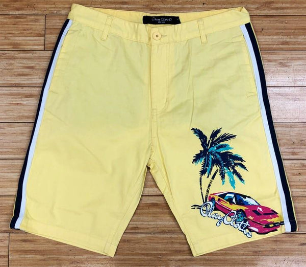 Playcloth- yellow kona shorts