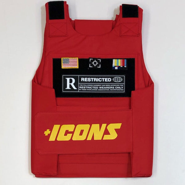 Hudson- restricted vest (red)