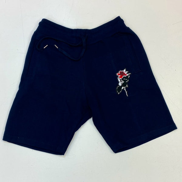 Rawyalty- rose shorts (navy)
