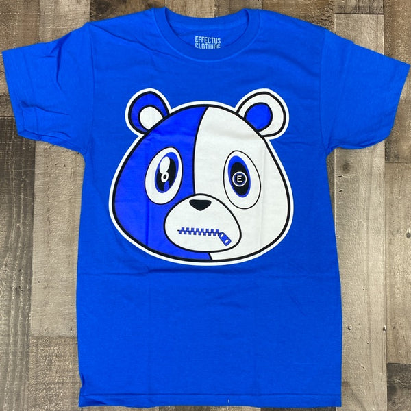 Effectus Clothing- e bear ss tee (royal)