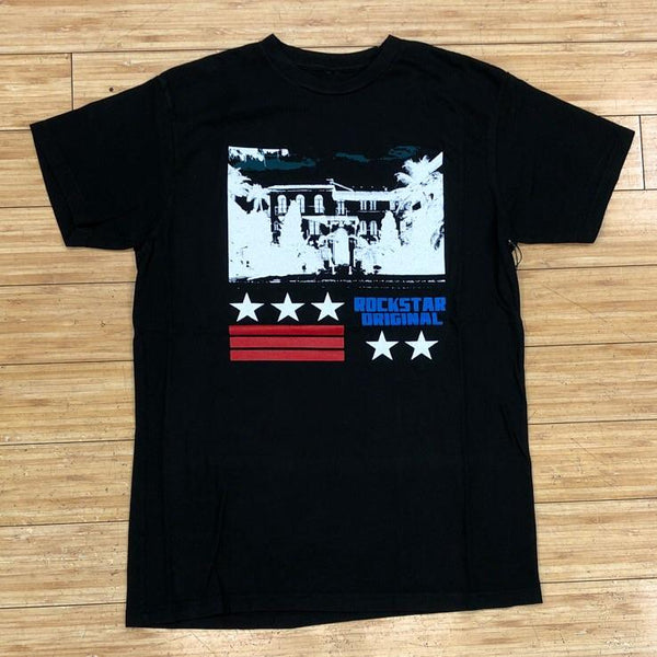 ROCKSTAR-BLACK PARTY SS TEE