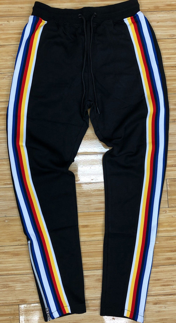 Hudson- Jeffrey stripe track pants