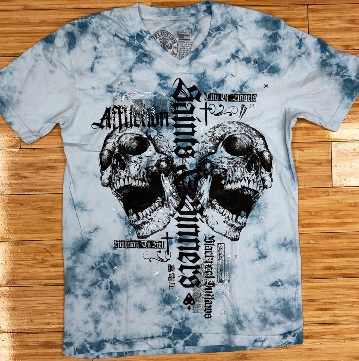 Affliction- angel city ss vneck tee