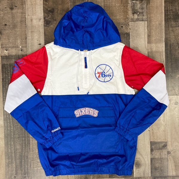 Mitchell & Ness- 76ers windbreaker