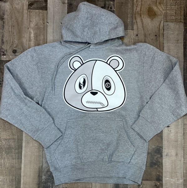 Effectus Clothing- e bear hoodie (heather grey)