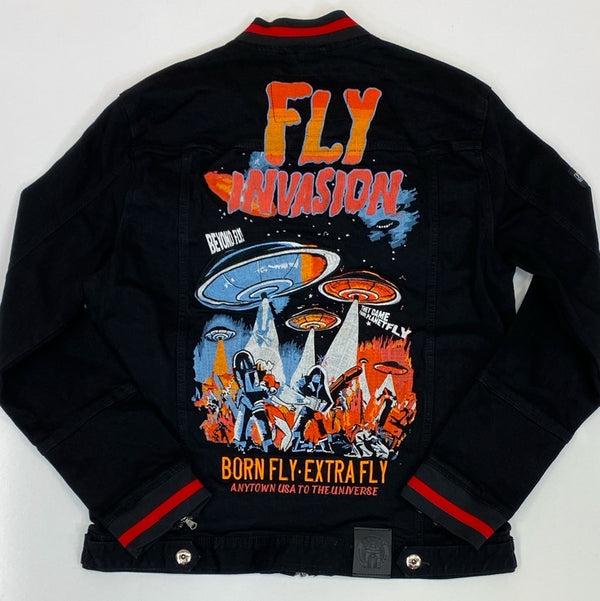 Born fly- It jean jacket