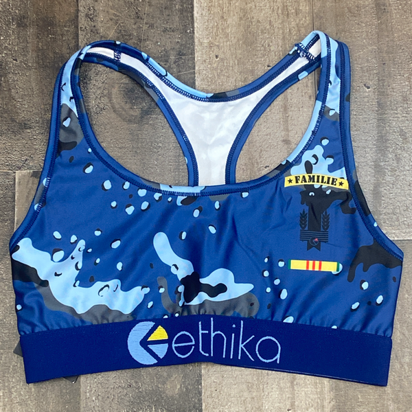 Ethika- deep sea camo bra (women)