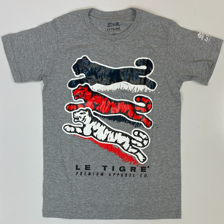 Le Tigre- stacked tiger ss tee