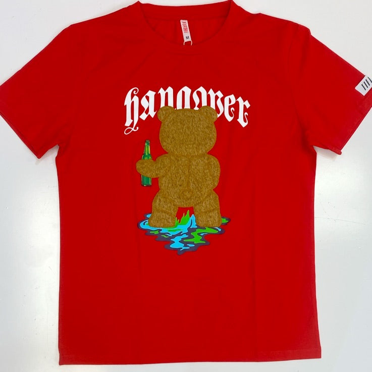 Fifth Loop- hangover teddy ss tee (red)