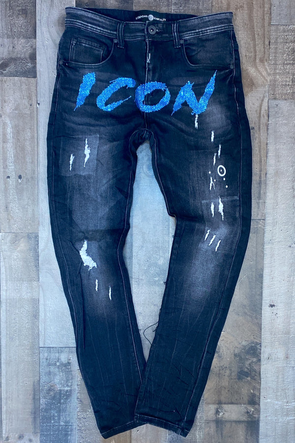 Rawyalty- Icon jeans (black/blue)