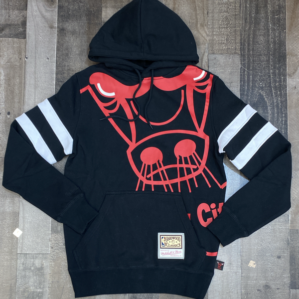 Mitchell & Ness- nba substantial fleece hoodie Chicago Bulls