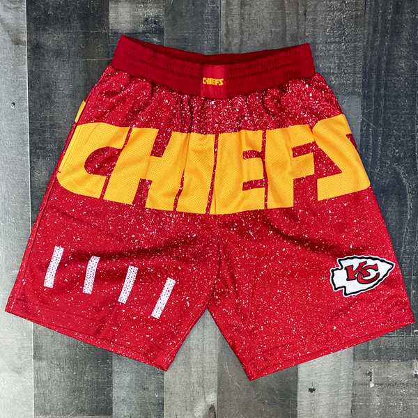 Mitchell & Ness- chiefs nfl shorts