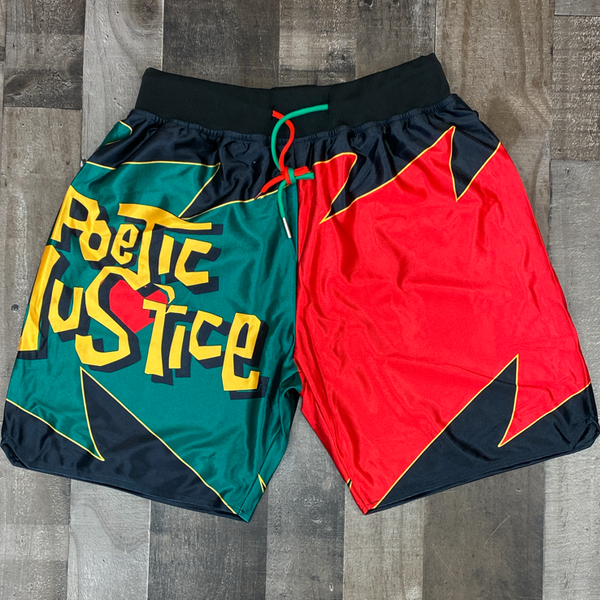 Headgear Classics- poetic justice two tone shorts