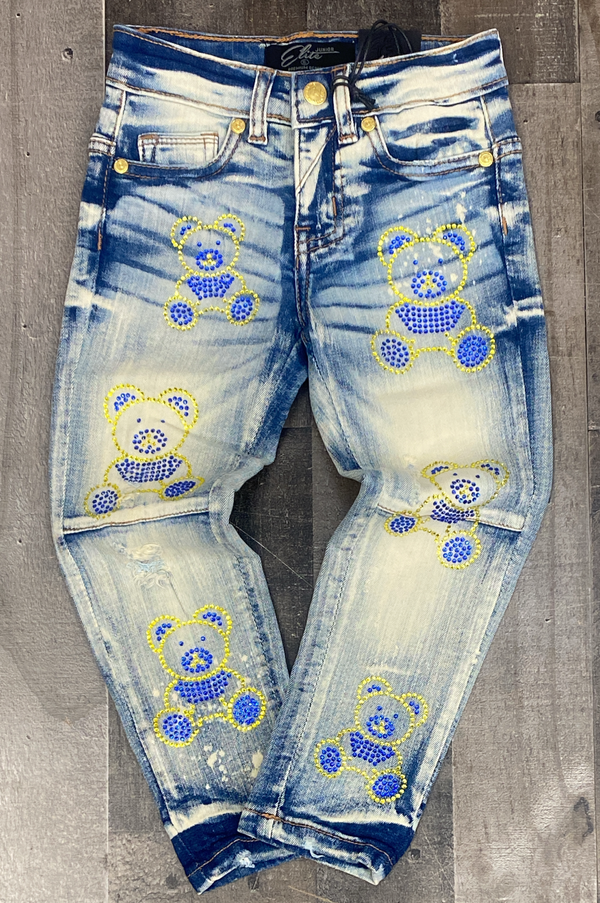 Elite- sun ray stone jeans (kids)