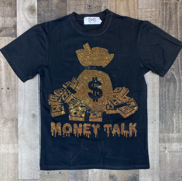 Dna Premium Wear- Money talk ss tee