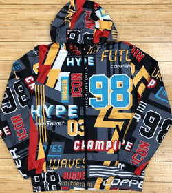 Copper rivet- all over print windbreaker