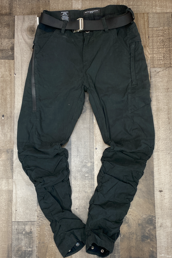 Cult Of Individuality- rocker cargo belted pants