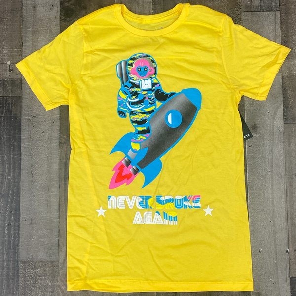 Never broke again- rocket monkey ss tee