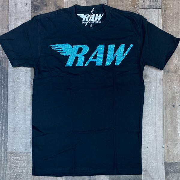 Rawyalty- studded raw ss tee