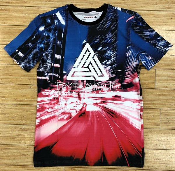 BLACK PYRAMID- WHITE NIGHT RIDERS SS TEE