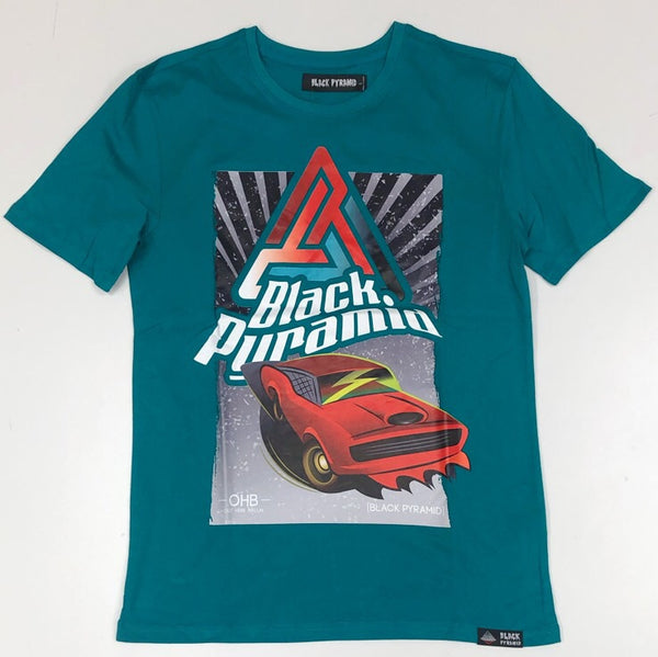 Black pyramid- ohb hot rod ss tee