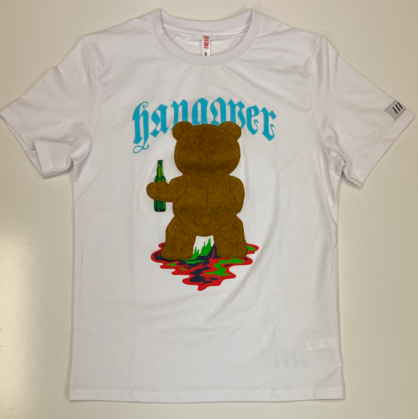 Fifth Loop- hangover teddy ss tee (white)