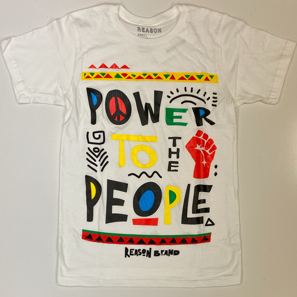 Reason- power to the people ss tee