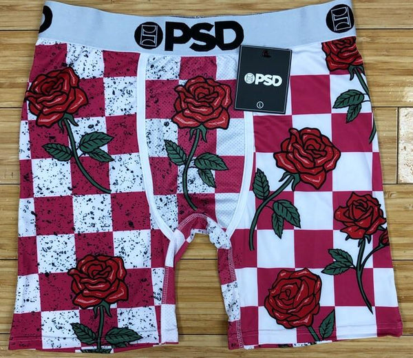 PSD- red rose Baker Mayfield boxers