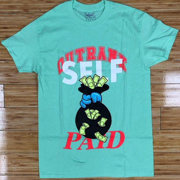 Outrank- self paid ss tee