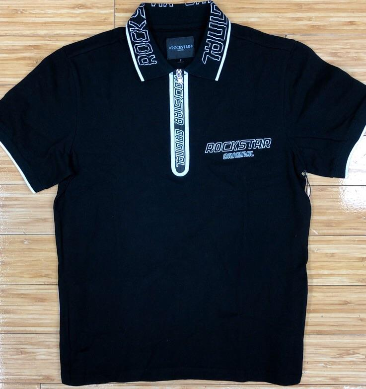 Rockstar- Kenji (black) polo