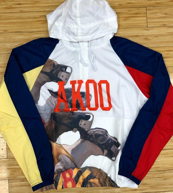 AKOO- races hooded jacket