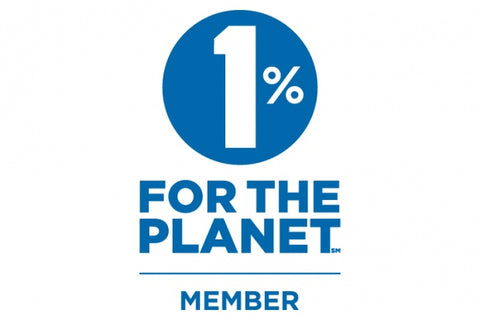 1 percent for the planet member badge