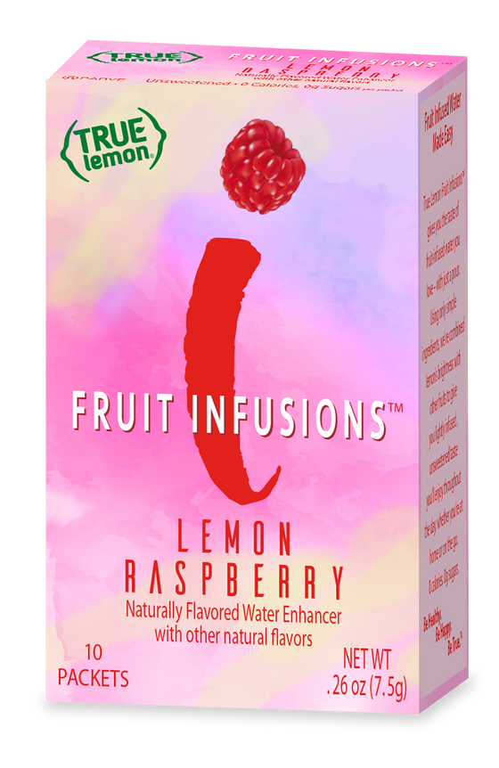 True Lemon Fruit Infusions Lemon Raspberry 10-Count