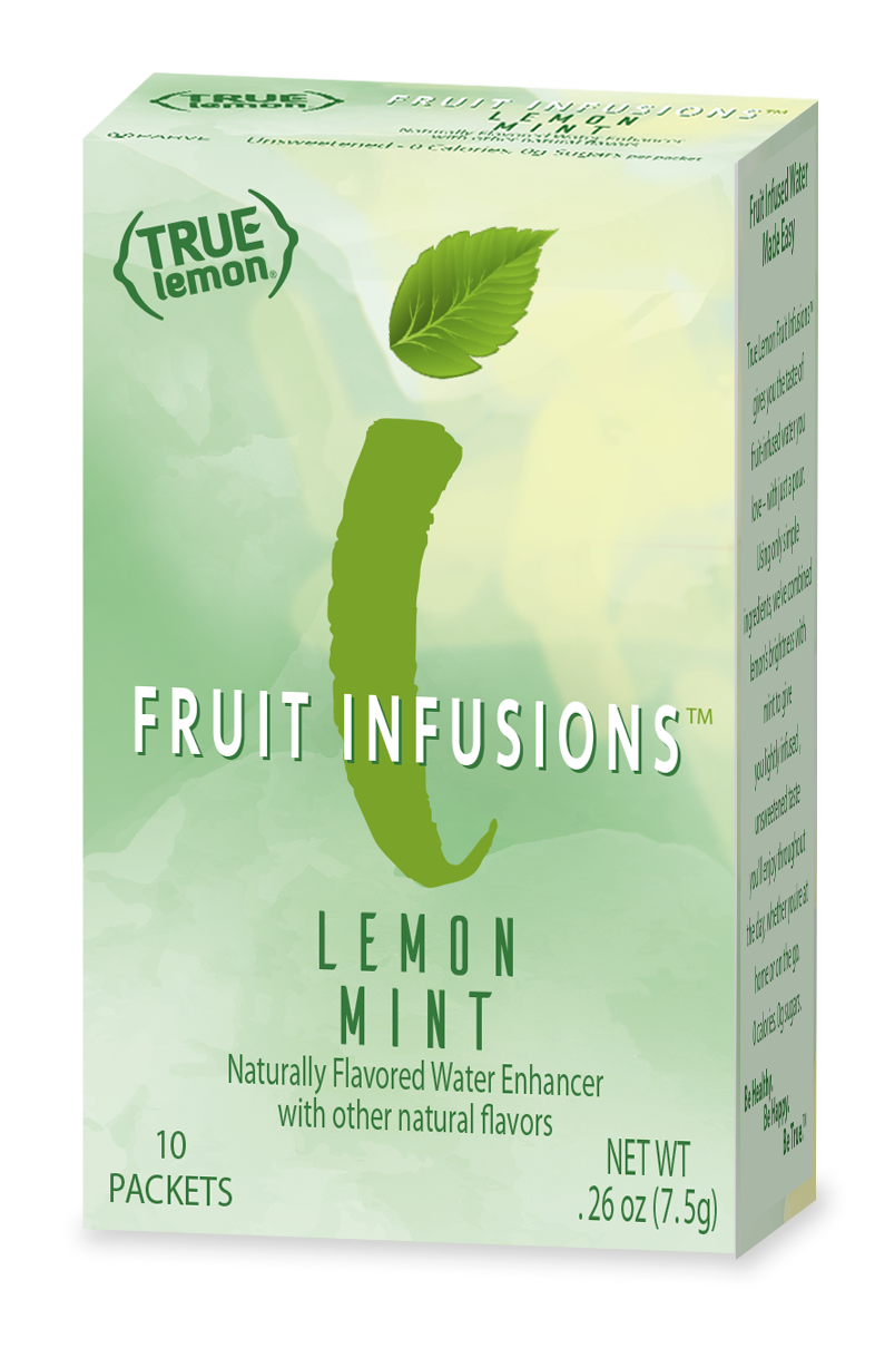 True Lemon Fruit Infusions Lemon Mint 10-Count