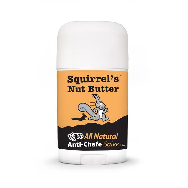 Squirrel's Nut Butter VEGAN All Natural Anti Chafe and Restorative Skin Salve