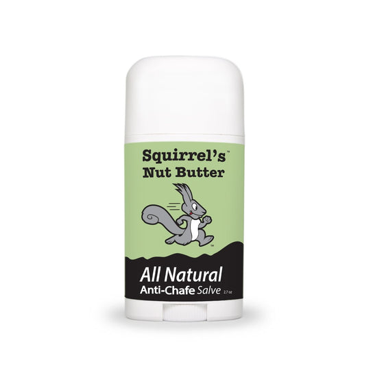 Squirrel's Nut Butter All Natural Anti Chafe and Restorative Skin Salve - Stick