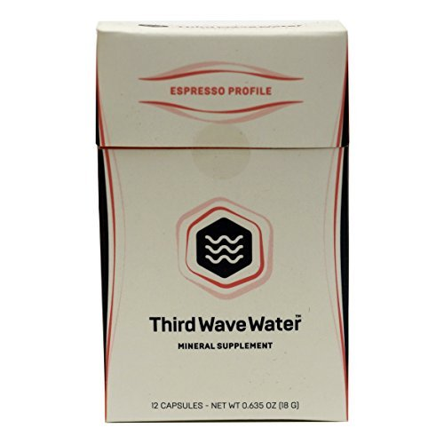 Third Wave Water Coffee Brewing Minerals, Espresso Profile 12-Pack (Gallons)