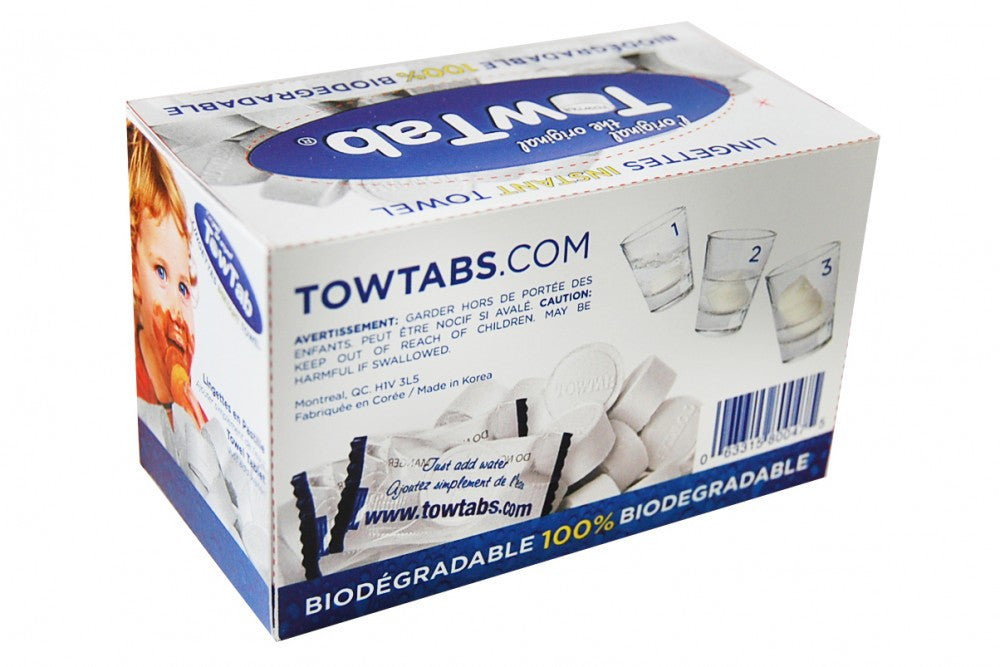 TowTabs 40 Piece Singles Individually Wrapped - Back