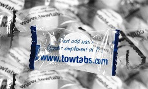 TowTabs Individually Wrapped Bulk Instant Towelettes
