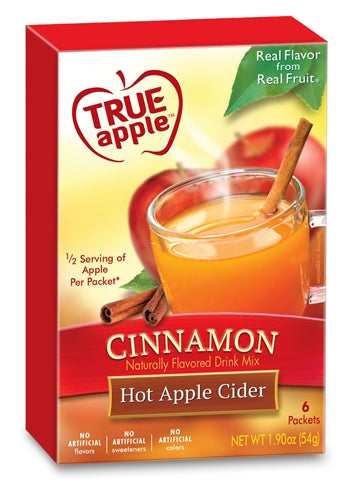 True Apple Hot Apple Cider, Cinnamon 6-Count