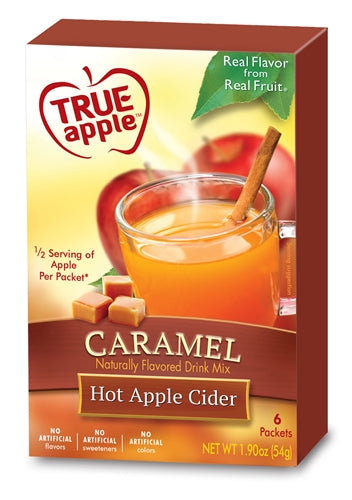 True Apple Hot Apple Cider, Caramel 6-Count