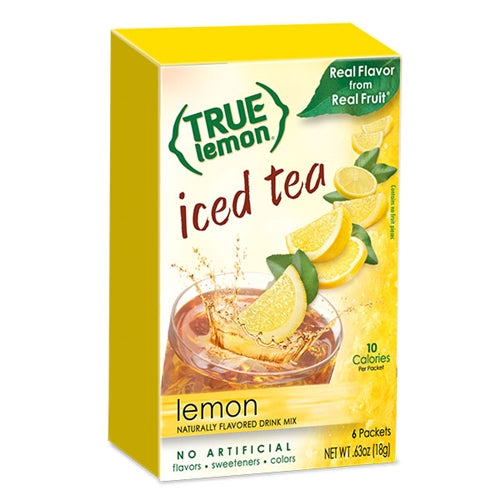 True Lemon Lemon Iced Tea 6-Count