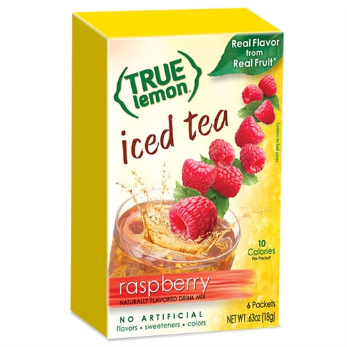 True Lemon Raspberry Iced Tea 6-Count