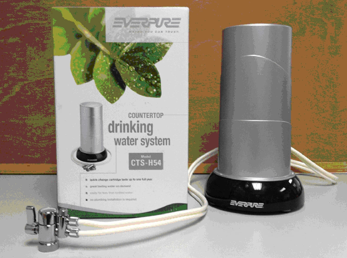 Everpure CTS-H54 Countertop Water Filtration System Retail Box