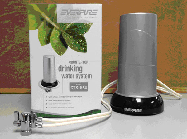 Everpure Cts H54 Countertop Water Filtration System Elua