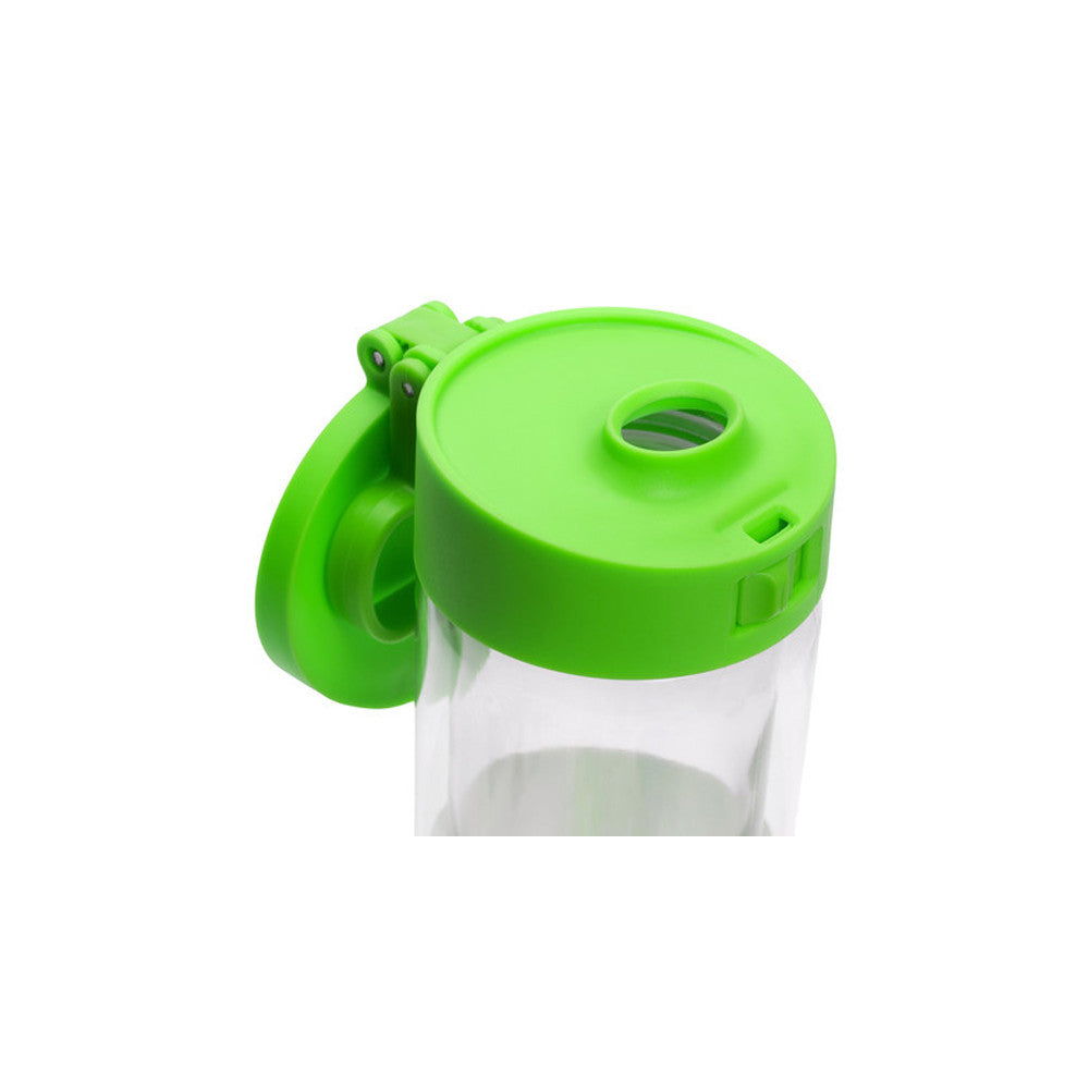 Glasstic Water Bottle Replacement Lid Cap Green