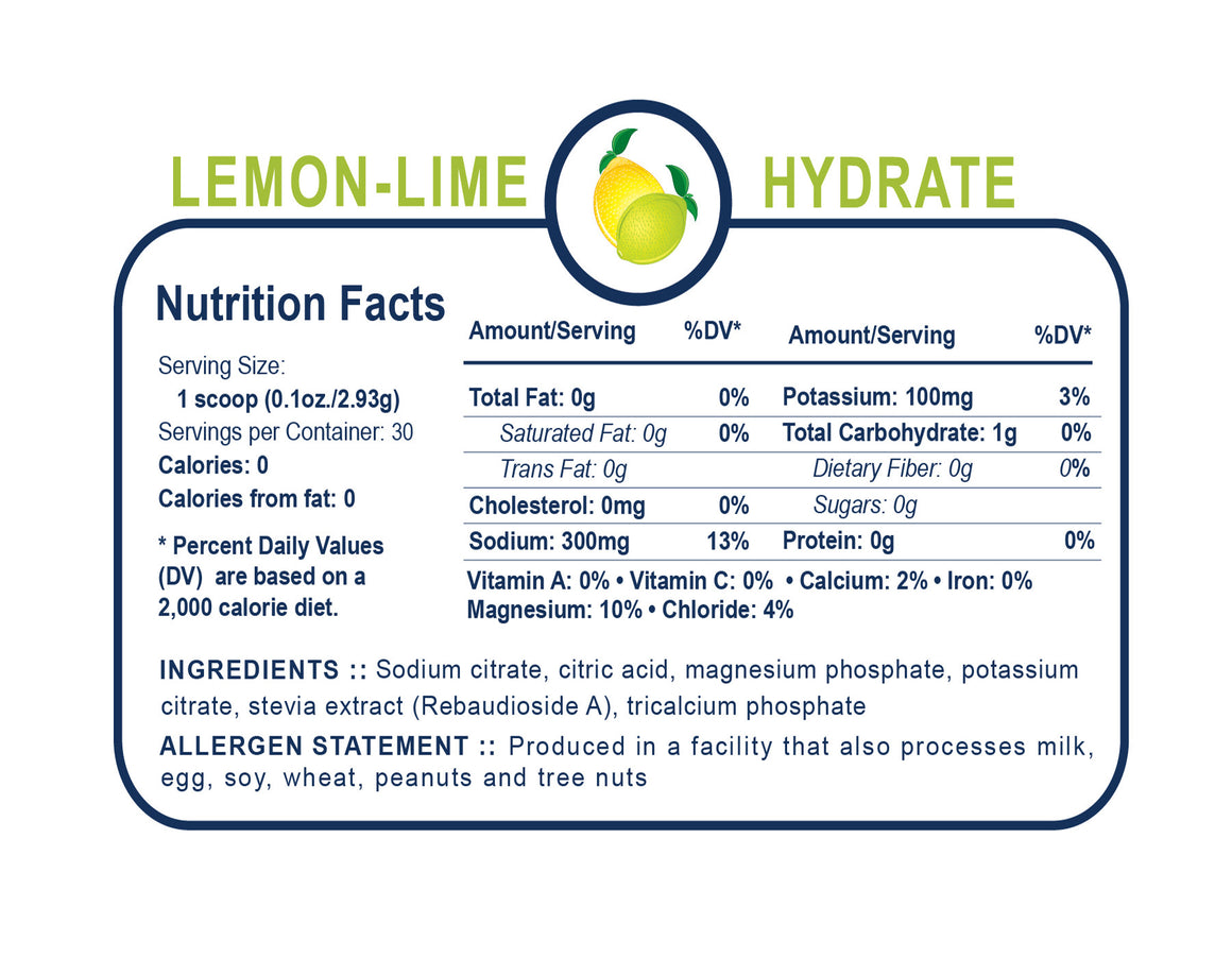 Generation UCAN Hydrate Jar - Lemon Lime