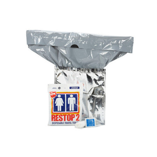RESTOP 2 (RS2) Disposable Travel Toilet