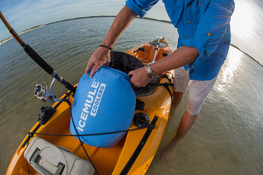 IceMule Classic Cooler Kayak In Use
